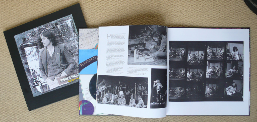 inside pages feature interviews about the songs in the Anthology