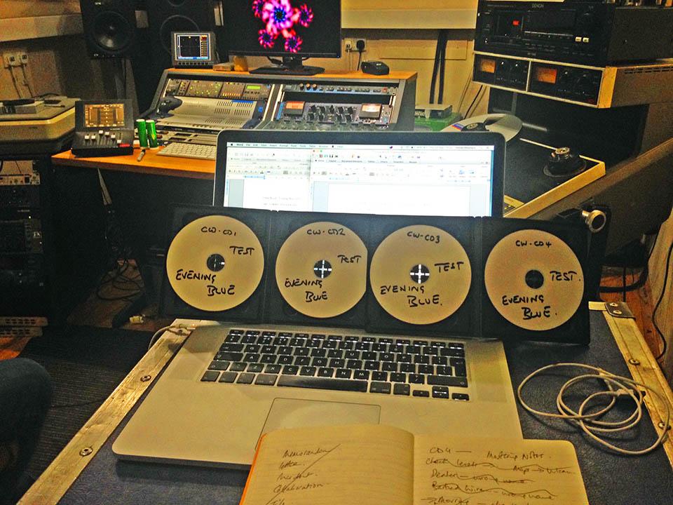 Remastering at FX studios London